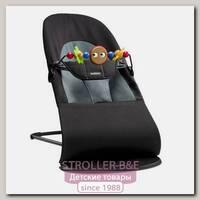 Детское кресло-шезлонг BabyBjorn Balance Soft с игрушкой