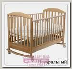 Детская кроватка Papaloni Джованни 125/65 качалка