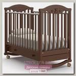 Детская кроватка Nuovita Lusso dondolo, колесо + качалка