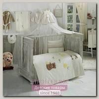 Комплект постельного белья Kidboo Honey Bear Soft 3 предмета