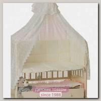 Комплект постельного белья Мой Ангелок Ромашки Б 2031 в кроватку (7 предметов)