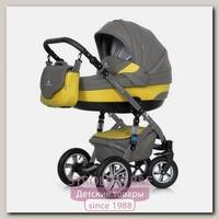 Детская коляска Caretto Riviera S 2 в 1, ткань+эко-кожа