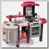 Электронная кухня Smoby Tefal Super Chef Deluxe 311304 со звуком и пузырьками, 46 аксессуаров