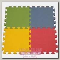Игровой коврик-пазл Funkids 12' Симпл-12 KB-049, 4 плиты