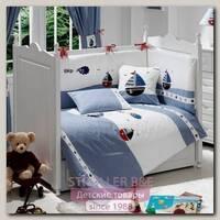 Комплект в кроватку Fiorellino Marine Фиореллино Марин, 5 предметов