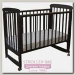 Детская кроватка Соня 02 Classic, колесо-качалка