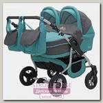 Детская коляска для двойни Teddy (BartPlast) Fenix Duo 2 в 1