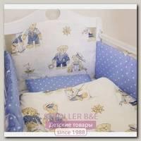 Комплект в кроватку ByTwinz Мишки-морячки (6 предметов)