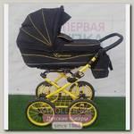 Детская коляска Esperanza Classic Leatherette 2 в 1 (100% замшевая ткань -Большие колеса)