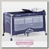 Детский манеж-кровать Caretero Deluxe