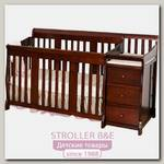 Детская кроватка с ящиками Leroys P32