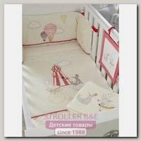 Комплект белья в кроватку Tutti Bambini Helter Skelter Тутти Бамбини Хелтер Скелтер, 7 предметов