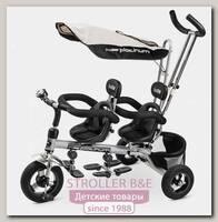 Трехколесный велосипед Small Rider Cosmic Twins для двоих детей, двойни, погодков