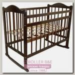 Детская кроватка PloomaBaby Паолина, колеса + качалка