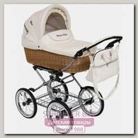 Детская коляска Maxima Willow 3 в 1, эко-кожа или ткань