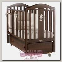 Детская кроватка Feretti Ricordo Swing продольный маятник