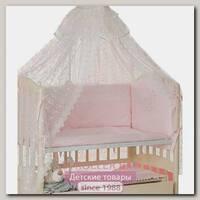Комплект постельного белья Мой Ангелок Умка Б 2043 в кроватку, 7 предметов