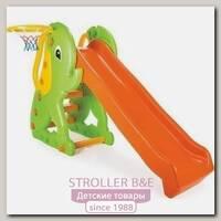 Горка Pilsan Слон с баскетбольным кольцом, 06-160