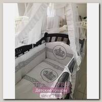 Комплект в кроватку Мой Ангелок Императорский, 7 предметов