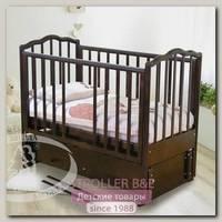 Кроватка детская Красная Звезда Можга Ангелина С 676 продольный маятник