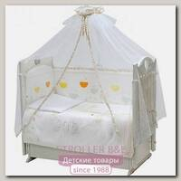 Комплект постели в кроватку Топотушки Луна-парк, 7 предметов