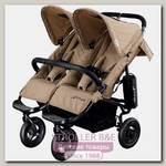 Детская прогулочная коляска для двойни Airbuggy Coco Double