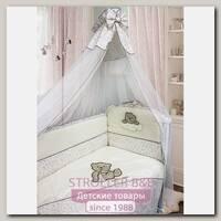 Комплект постели в кроватку Bombus Мишка в Штанишках, 7 предметов