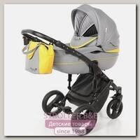 Детская коляска AmaroBaby City Ecco 2 в 1, ткань+эко-кожа