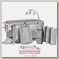 Детский манеж-кровать Kinderkraft Joy с аксессуарами