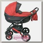 Детская коляска Caretto Bliss F 3 в 1, ткань+ эко-кожа