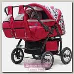 Детская коляска-трансформер для двойни и погодок BartPlast Duet PC