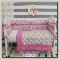 Комплект в кроватку ByTwinz Шебби (6 предметов)