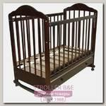 Детская кроватка Мой Малыш Ивашка 7 (колесо-качалка)