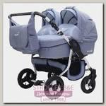 Детская коляска для двойни и погодок BartPlast Fenix Duo Prime 2 в 1