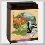 Пеленальный комод Disney КДП Бэмби 60 x 90