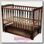 Детская кроватка Счастливый Малыш Кроха-2, поперечный маятник
