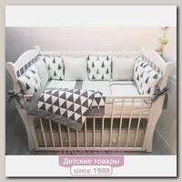 Комплект постели для прямоугольной кроватки Marele Карелия 460221-12, 18 предметов