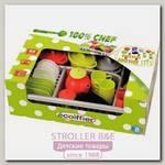 Набор посудки Ecoiffier 100% Chef 1210, 45 предметов