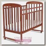 Детская кроватка Альма-Няня Милана, колесо-качалка