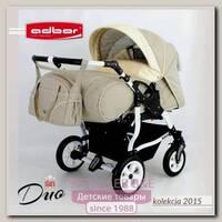 Детская коляска-трансформер для двойни Adbor Duo Stars