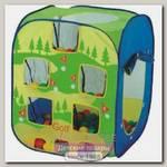 Детская палатка Calida Квадрат + 100 шаров + гольф + бейсбол