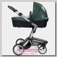 Детская коляска Mima Xari Flair 3G 2 в 1, кожа, шасси Aluminium