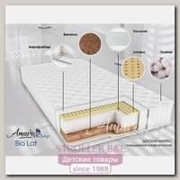 Детский двусторонний матрас AmaroBaby Bio Lat,120 х 60 х 12 см