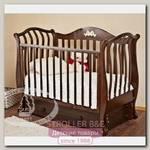 Детская кроватка Красная Звезда Можга Юлиана С 757 продольный маятник аппликация №27 Бабочки