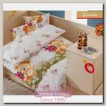 Комплект постельного белья Kidboo TM Ups Pups Медвежата 3 предмета