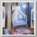 Комплект постельного белья Feretti Romeo blue 3 предмета