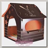 Игровой домик Mouse House Зайка сборный, ЭКО-МДФ