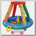 Надувной сухой бассейн Upright Игровой центр + 50 шаров
