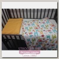 Сменный комплект постельного белья Marele Жирафы