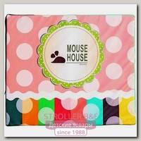 Игровой мат Mouse House Мишка для игрового домика, эко-кожа